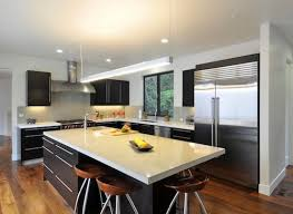 images of kitchen islands with seating modern kitchen island this brightly lit open yet slim kitchen