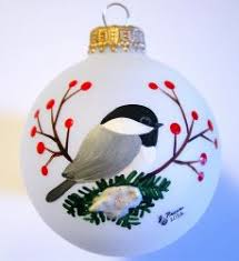 jeanne crafts painted glass ornaments furniture