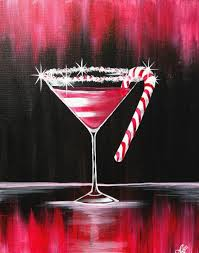 christmas martini glass tavernacle 12 13 17 paint nite event
