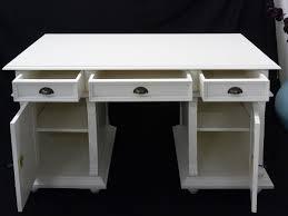 Schreibtisch Mit Computertisch Schreibtisch Büromöbel Computertisch Aus Massivholz In Weiß
