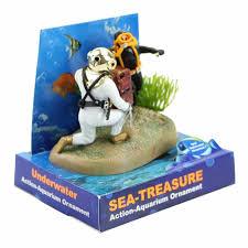 treasure diver awesome aquarium decoration awesome