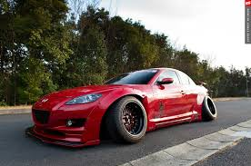 mazda rx7 rocket bunny kit rocket bunny rx 8 w 20 degrees camber stance too far
