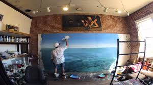 learn to paint an ocean paradise mural with joe pagac youtube