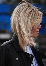 Bob Frisuren Blond Halblang by Die Besten 25 Frisuren Halblang Gestuft Ideen Auf