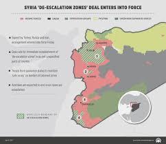 Homs Syria Map by Syria U0027de Escalation Zones U0027 Deal Enters Into Force