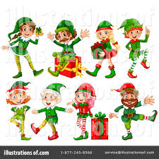 christmas elf clipart 1266357 illustration by graphics rf