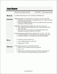 Free Chronological Resume Template Microsoft Word Resume Templates Chronological Chronological Resume Template 23