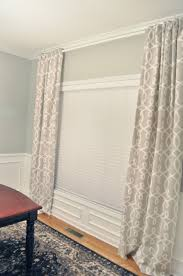 not so newlywed mcgees dining room curtains