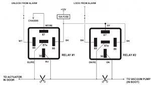 automotive relay diagram standard relay wiring diagram wiring