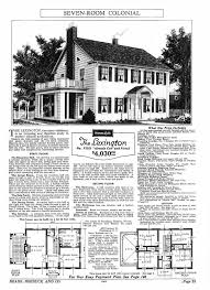 Floor Plans For Bungalow Houses Sears Homes 1927 1932