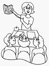 clip art teachers coloring pages mycoloring free printable