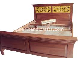 Indian Bed Furniture Hand Carved Indian Bed U0026 Rosewood Furniture For Home Pearl