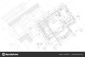 detailed floor plans architectural background vector blueprint detailed floor plans