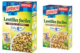 lentilles cuisiner avis lentilles faciles lustucru jaunes vertes ou riz