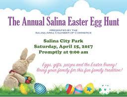 2017 salina city easter egg hunt