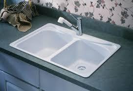 Deep Double Kitchen Sink by Moenstone Double Bowl 28350w From Moen