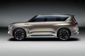 infiniti jeep infiniti qx80 monograph infiniti u0027s designers go big by car magazine