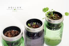 indoor herb garden kit with light home outdoor decoration