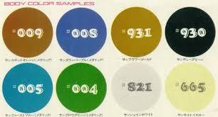 tech wiki colors datsun 1200 club