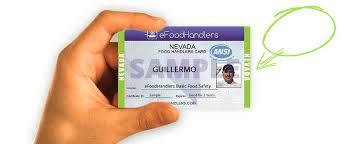 nevada food handlers card efoodhandlers 10