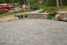 Concrete Patio Color Ideas by New Round Concrete Patio Blocks Good Home Design Creative On Round