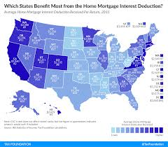 Home Mortgage by Which States Benefit Most From The Home Mortgage Interest Deduction