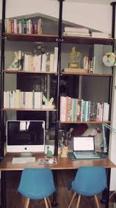 Ikea Hack Office Desk Ikea Bookshelves Hack Office Bookshelves Ikea Hack And