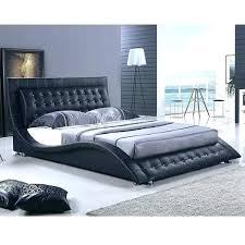 Platform King Size Bed Frame Modern King Size Bed Frame Renaniatrust
