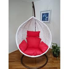 outdoor swing egg trapeze wicker rattan hanging pod chair ezy
