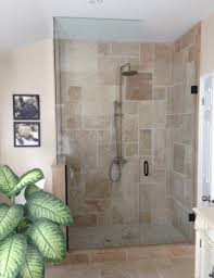 Open Shower Bathroom Design by Lowe U0027s Glass Walk In Shower Designs Bathroom Shower Design