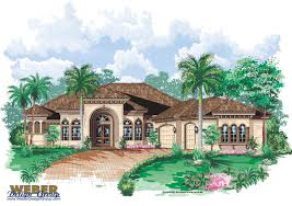 Spanish Home Plans by Spanish House Plans Mediterranean Style Greatroom Courtyard