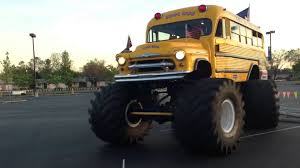 bigfoot monster truck youtube monster truck bus youtube