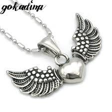 aliexpress buy gokadima 2017 new arrivals jewellery aliexpress buy gokadima 2017 new angel flying wings heart