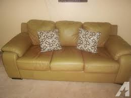 Leather Sofa Used Bonded Leather Sofa Bed Used Leather For Sale In