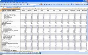 Household Budget Template Excel Home Budget Spreadsheet Simple Monthly Budget Template1 Jpg Free