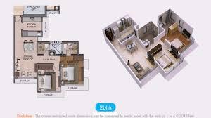 2bhk floor plan pdf youtube