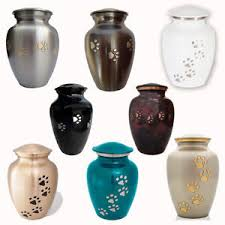 dog urns for ashes classic paws series pet memorial cremation urn small to large dog