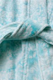 robe de chambre ralph ralph cotton terry robe nuisette turquoise femme