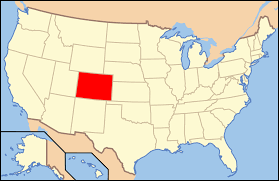 Fort Collins Colorado Map by Paleontology In Colorado Wikipedia