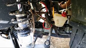 be careful with front suspension polaris atv forum
