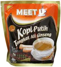Kopi Tongkat Ali Ginseng Coffee ginseng for energy immunity flavor