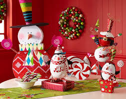 peppermint playland decor and ornaments