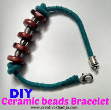 make beads bracelet images How to make ceramic beads bracelet jpg