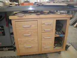 Under Table Cabinet Under Saw Cabinet And Outfeed Table By Bondogaposis