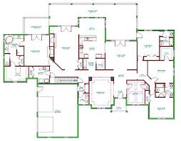 5 bedroom house plans with basement baby nursery 5 bedroom ranch house plans simple 5 bedroom ranch
