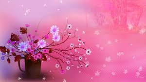 cute fall computer wallpaper flower autumn pink flowers bouquet firefox persona fall trees