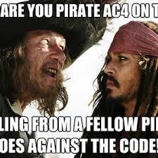 Pirate Meme - always follow ye pirate code matie by kickassia meme center