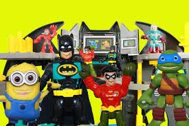 batman batcave imaginext toys tmnt minion dave super friends