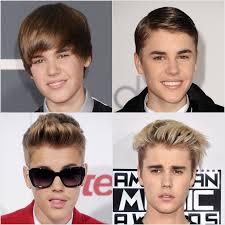 hairstyles through the years justin bieber s best hairstyles popsugar beauty