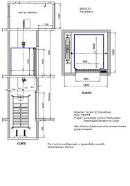 Extreme elevadores.sc: Corte AA e Planta Baixa @NY89